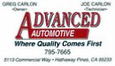 Advanced Automotive 209.795.7665